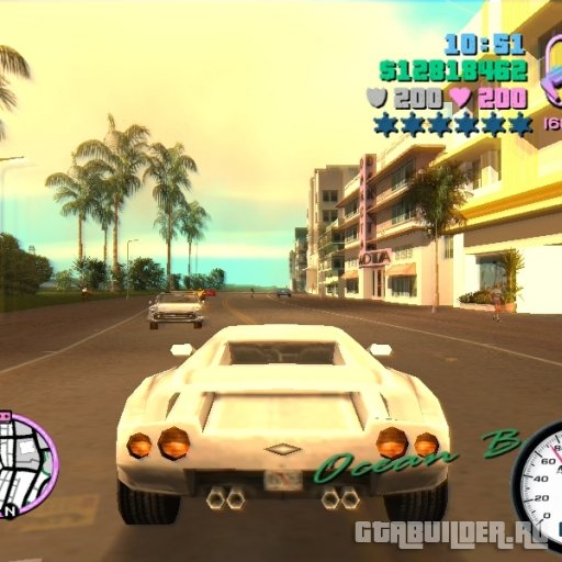 Source Speedometer GTA Vice City