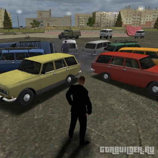 Москвич для GTA Vice City